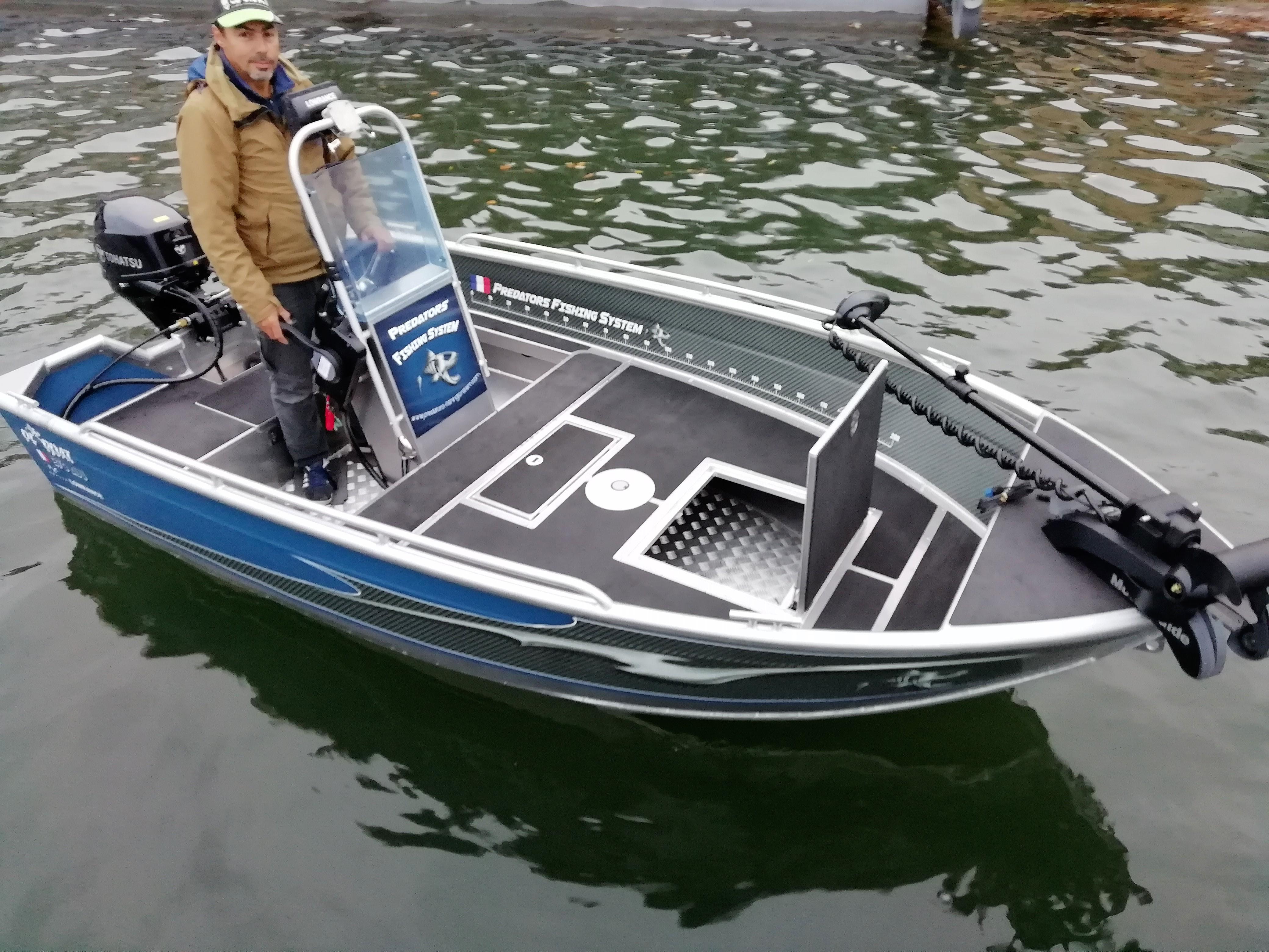 PF BOAT 370 AC PVC