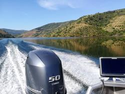 Fishing on Douro RIver