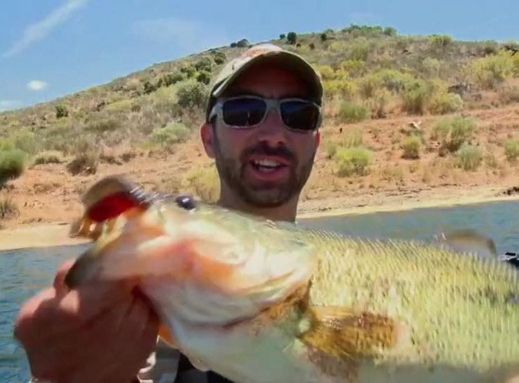 Pêche du Black Bass avec Philippe JORGE - Guide de pêche au Portugal