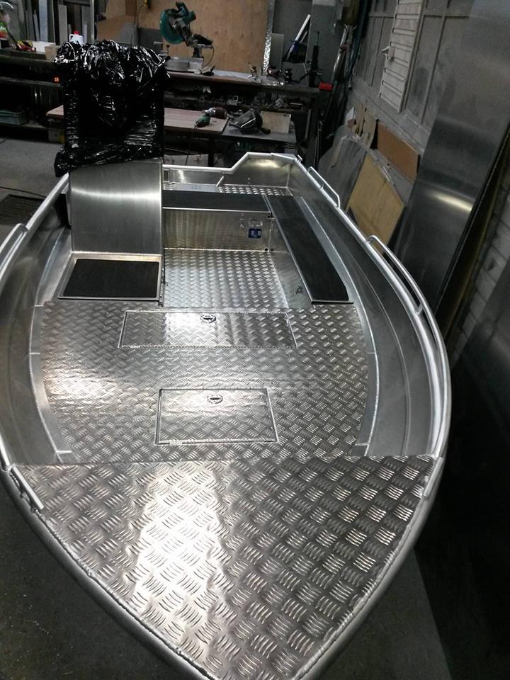 PF Boat 450 AC PVC