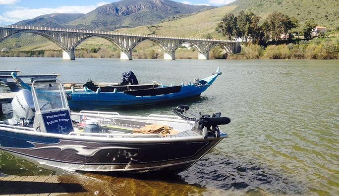 Pêche sur le Douro au Portugal