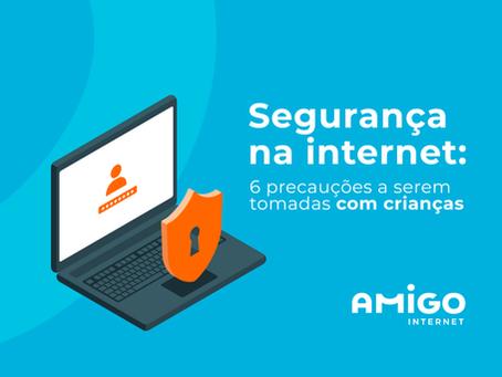 Segurança na internet: 6 precauções a serem tomadas com crianças