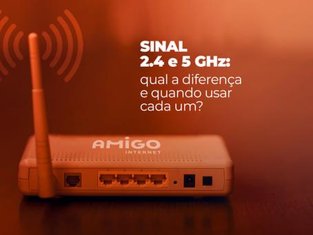 Sinal 2.4 e 5 GHz: qual a diferença e quando usar cada um?