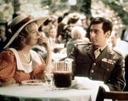 Al Pacino and Diane Keaton The Godfather