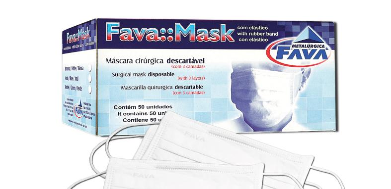 Caixa de Máscara
