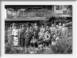 お客様の記念写真 昭和期