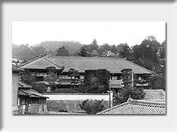 冨士屋全景 (現在のすじ湯あたりから見た)