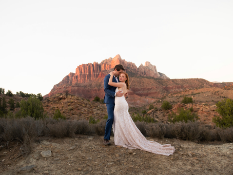 10 Ways to Beat the Heat for a Summer Wedding in Southern Utah