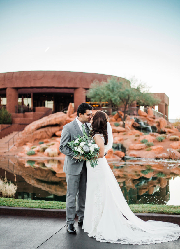 Magical Zion Destination Wedding at Entrada Country Club