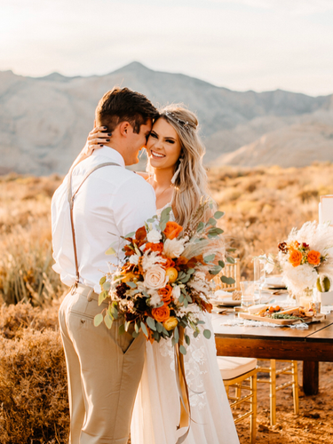 Boho Elopement at Snow Canyon State Park