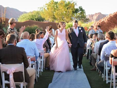 Southern Utah Wedding: The Blushing Bride