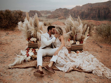 Zion Destination Wedding Itinerary