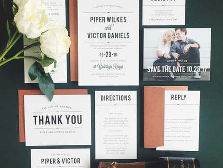 Where to Create Your Save the Date Cards and Wedding Invites!