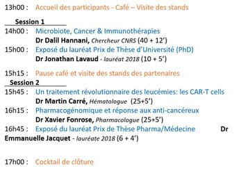 Le pré-programme des Rencontres de la Cancérologie Grenobloise est en ligne !