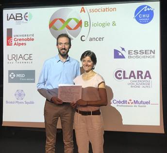 Félicitations à la Lauréate du prix de Thèse d'exercice !