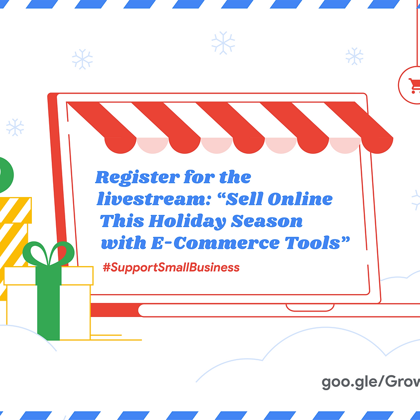 Sell Online This Holiday Season with E-Commerce Tools