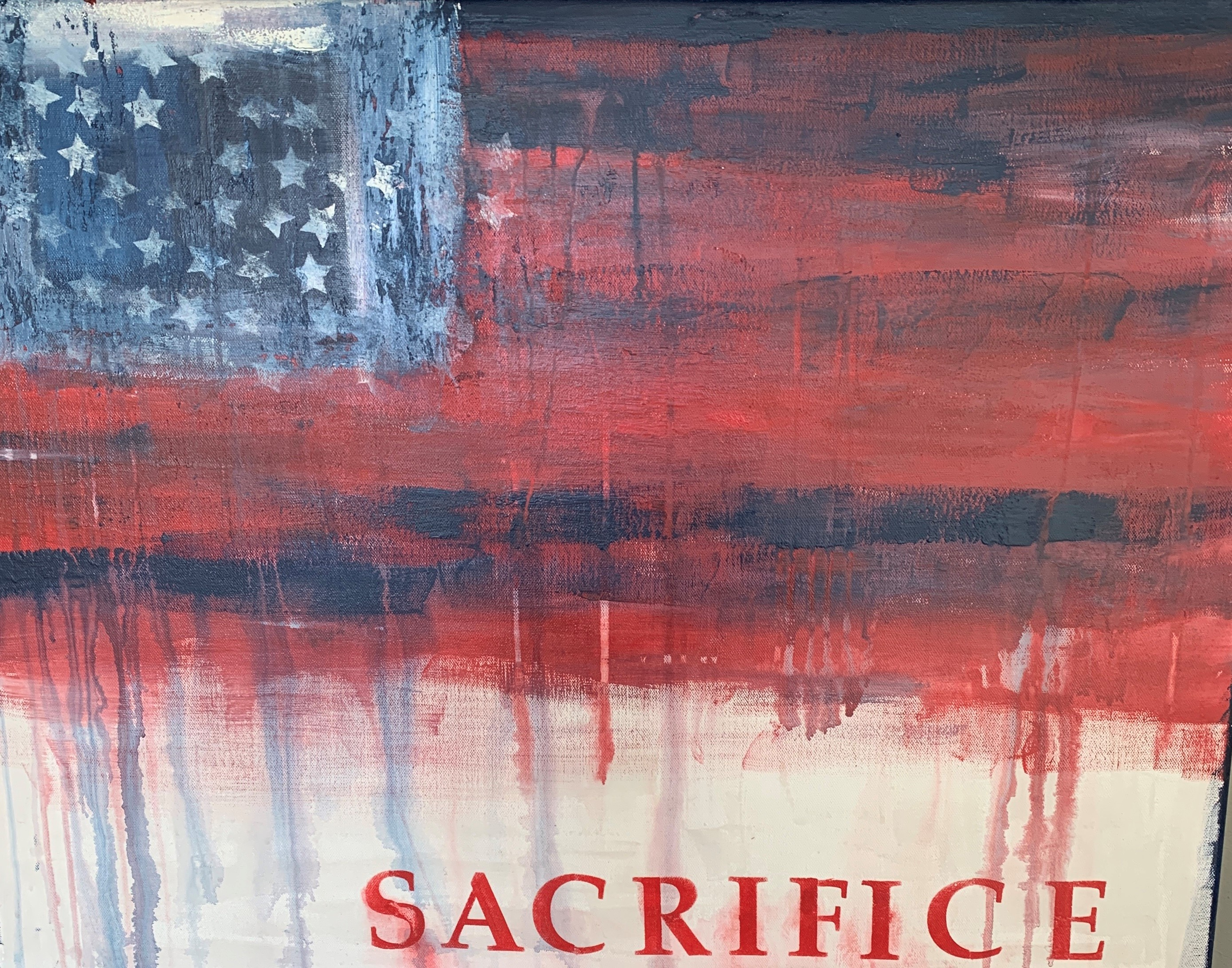 Sacrifice canvas