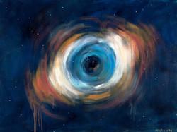 Eye of God canvas