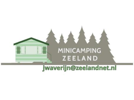 """Sponsorbijdrage Minicamping """"Zeeland"""""""