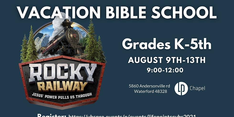 Vacation Bible School - Rocky Railway