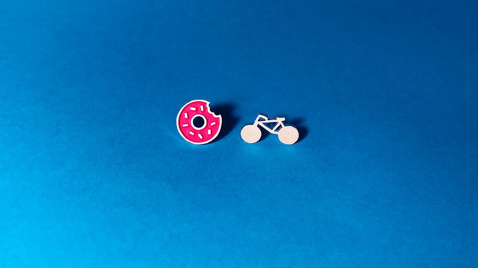 Пончик и велосипед
