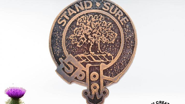 Clan Anderson Badge, Scottish Clan, Clan Anderson