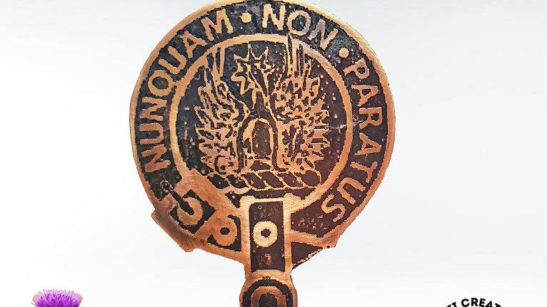 Clan Johnstone Badge, Scottish Clan Pin, Border Reivers