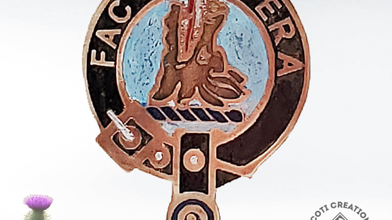 Clan Campbell of Possil Badge, Carter-Campbell Clan, Scottish Clan