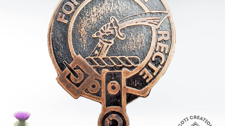 Clan Elliot Badge, Scottish Clan Elliot, Border Reiver Clan