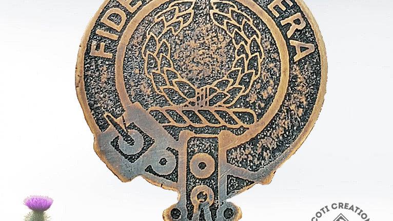 Clan MacArthur, Clan Arthur Badge, Scottish Clan, Highland Clan