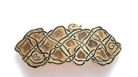 Celtic Barrette - Knot