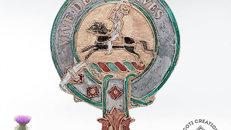Clan Craig Badge, Scottish Clan