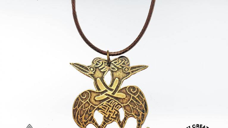 Celtic Heron Necklace