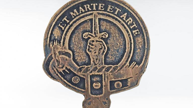 Clan Bain Badge, Scottish Highland Family