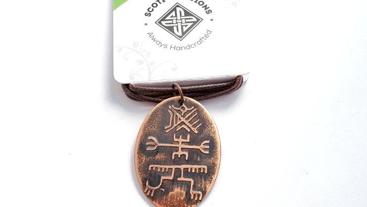 Norse Icelandic Symbols Necklace