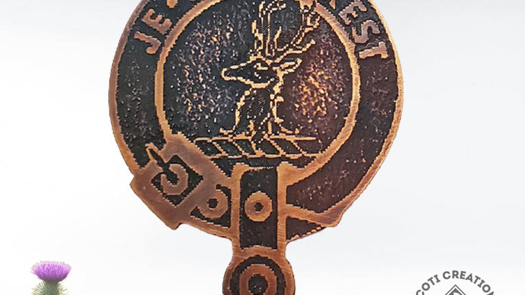 Clan Fraser of Lovat Badge, Scottish Highland Clan