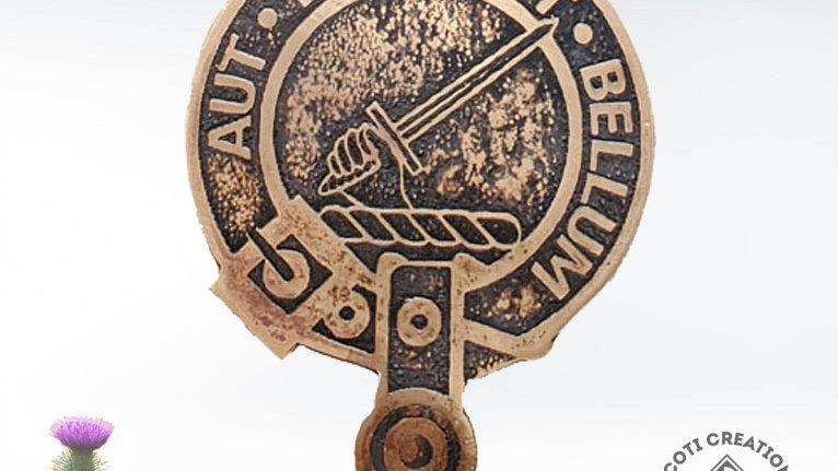 Clan Gunn Badge, Scottish Clan, Highland Scottish Clan