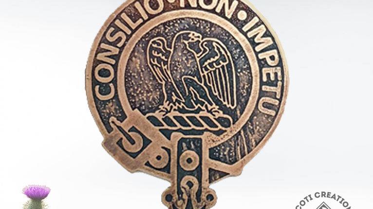 Clan Agnew Badge, Scottish Lowland Clan