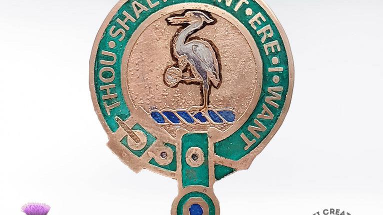 Clan Cranstoun Badge, Scottish Clan Buchanan, Lowland Clan