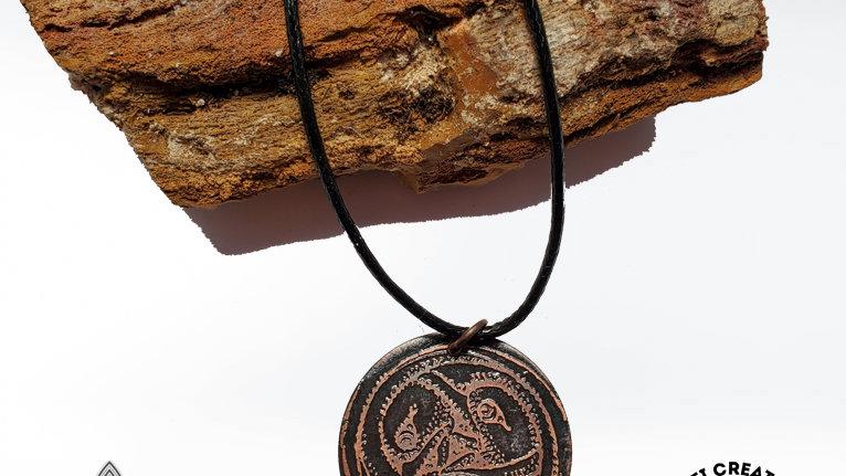 Copper Seagull Pendant