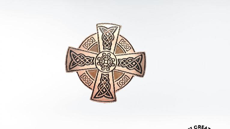 Celtic Even-Armed Brooch
