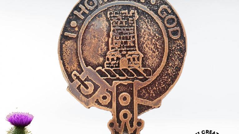 Clan MacNaghten Badge, Scottish Clan, Pictish Clan, Clan MacNaghten