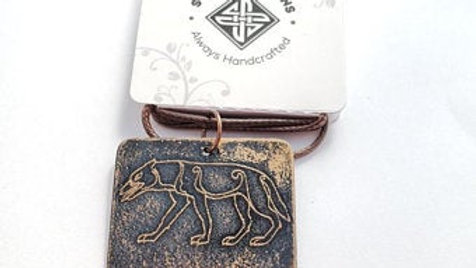 Pict Dog/Wolf Necklace 254