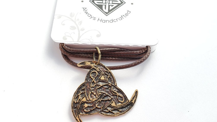 Triple Horn of Odin Necklace