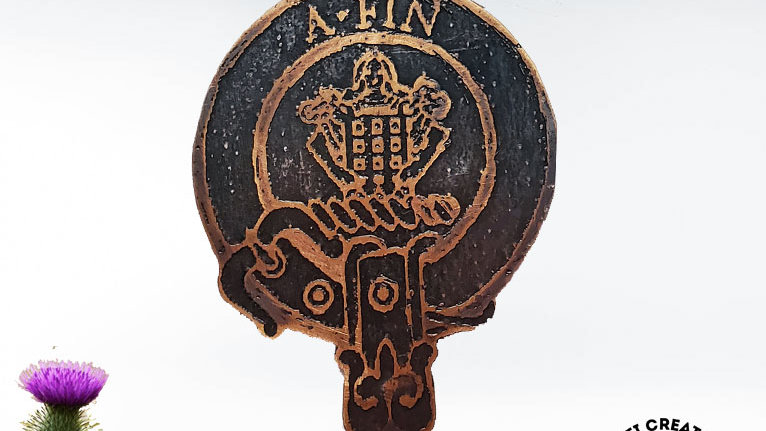 Clan Ogilvy Badge, Clan Ogilvie, Scottish Clan Ogilvy