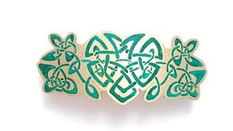 Celtic Barrette - Heart