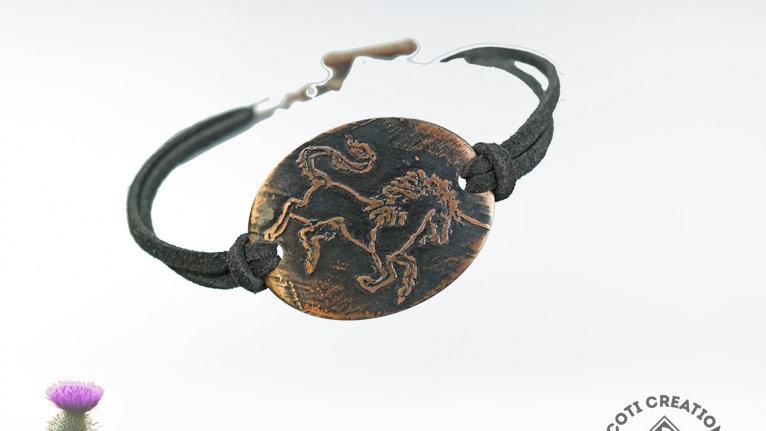 Scottish Unicorn Bracelet