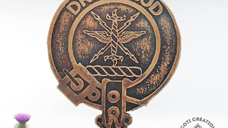 Clan Carnegie Badge, Scottish Lowland Clan