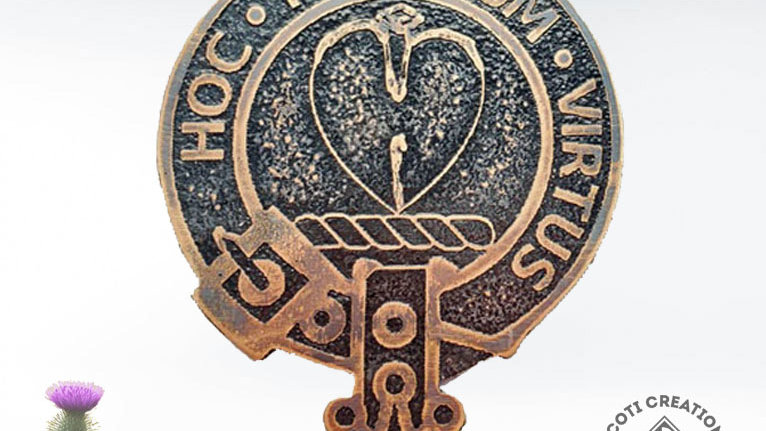 Clan Logan Badge, Scottish Clan Logan, Highland Clan, Lowland Clan