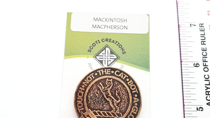 Clan Badge: MacKintosh or MacPherson
